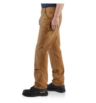 carhartt work pants. My plumbing pants. Seriously the most comfortable things ever.