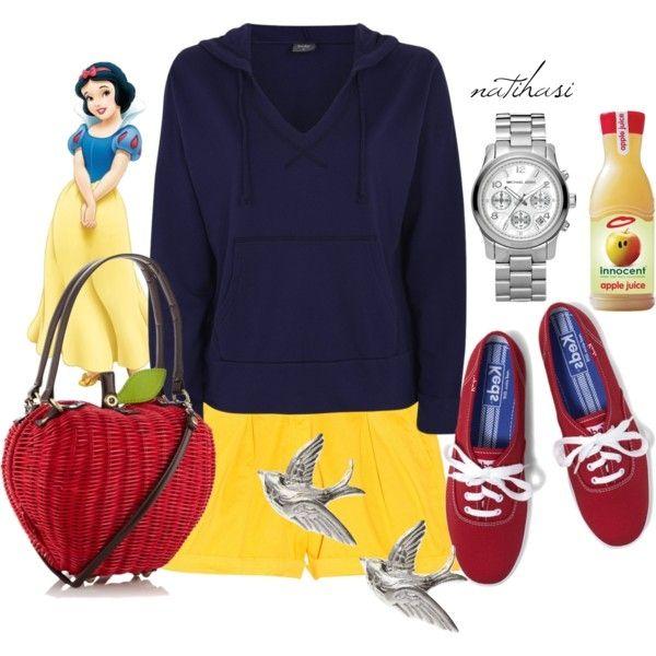 Disney Theme Park Summer Outfit: Snow White
