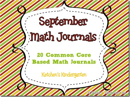 September Math Journals - free & common core based: Journals Printables, Journals Freebies, Journals Idea, Math Journals Prompts, Journals Topic, Kindergarten Math Journals, Journals Kindergarten, Journals Awesome, Math Journal Prompts