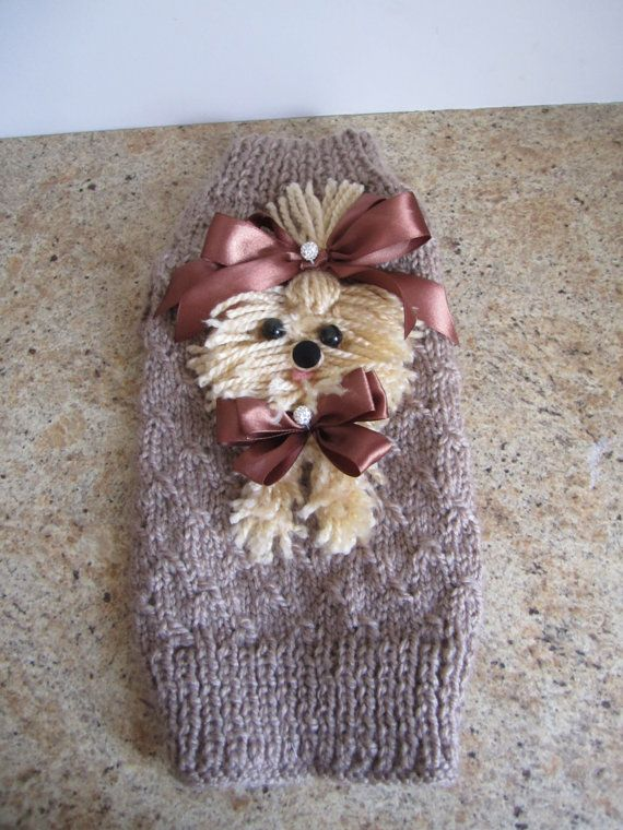 Hey, I found this really awesome Etsy listing at https://www.etsy.com/listing/247421870/dog-sweater-yorkie-beige-by-ninas