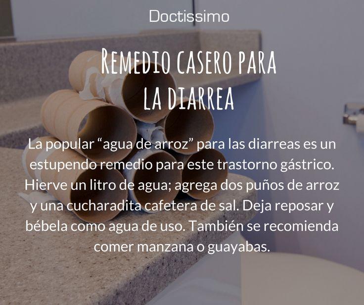 Remedio casero para la diarrea avalado por médicos.