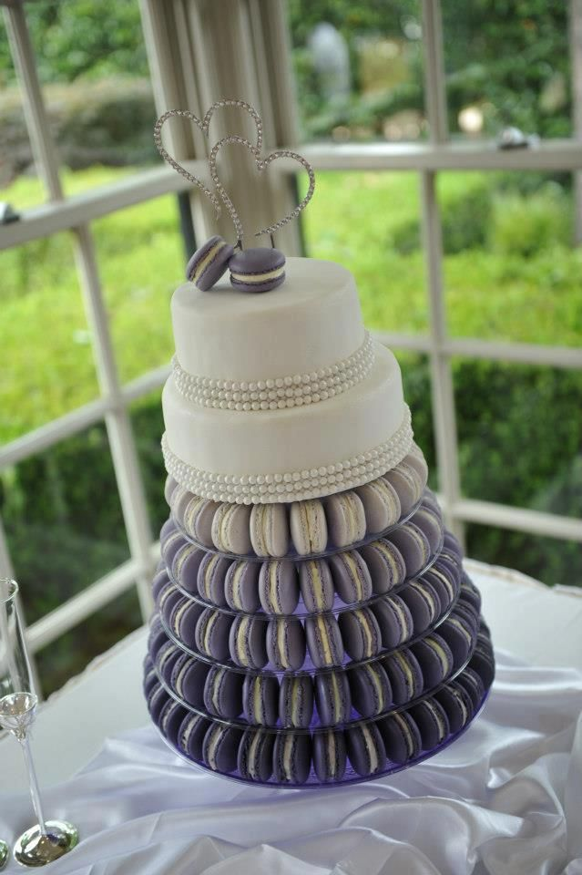 ombre macarons for wedding