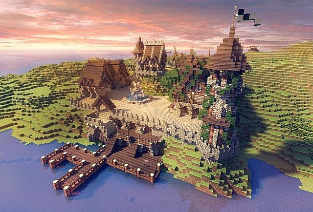 This is the best Minecraft Medieval/Fantasy castle I've seen so far!!