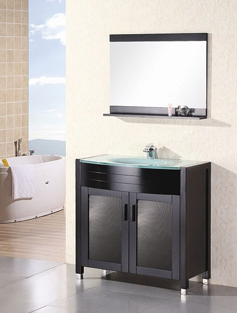 Prestige Modern Bathroom Vanity DEC018 By Design Element
