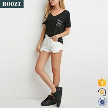Guangzhou Clothing Tee Shirt Polyester V Neck Wholesale T shirt Printing  Best seller follow this link http://shopingayo.space