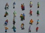 Spurweite N Figuren - modellbau figuren - scale model figures #n_figuren #modellbahn_spur_n #spur_n