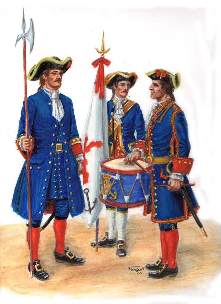 1717. Batallones de Marina