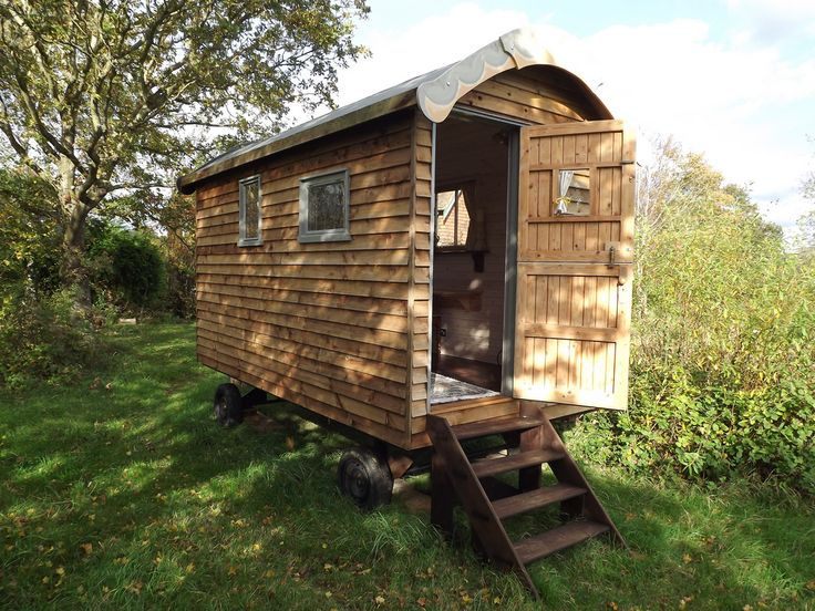 We love a Shepherds hut here on readersheds – I think because there is such a history to them but of course now they are being lovingly created by hand by a few companies around the UK A friend of mine sent me this link to Nightingale Shepherd Huts from Sussex and they look like … Continue reading Shepherd huts – Posh sheds on wheels or the future of shedism