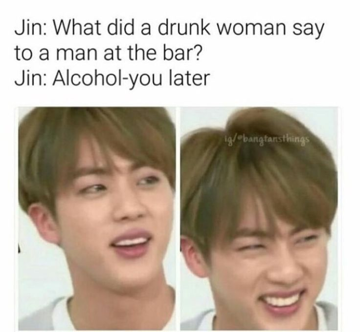I love Jin's jokes, even if they don't make sense at times XD