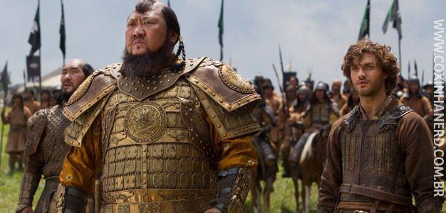 A nova série do Netflix irá ao ar dia 12 de dezembro: Marco Polo e sua trajetória de trabalho e vida ao lado do sobrinho de Gengis Khan.