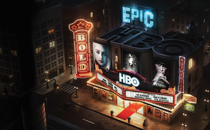 HBO — Home of The Originals on Behance