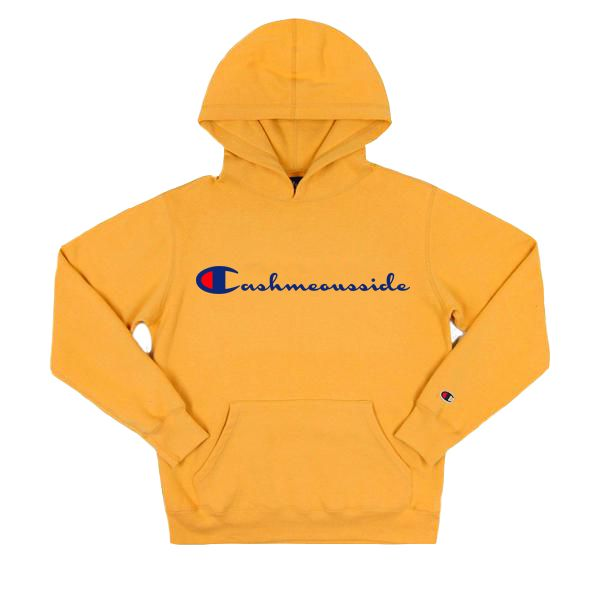 """There's this custom take on a Champion hoodie. 