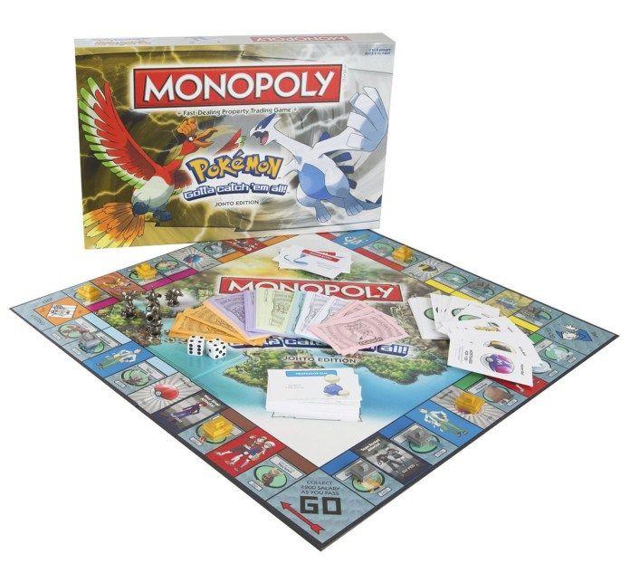 Pokémon: In arrivo il nuovo Monopoly dedicato alla regione di Johto