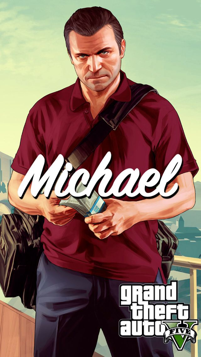 Michael #GTA #Iphone5 #Wallpaper | For your iPhone 5 ...