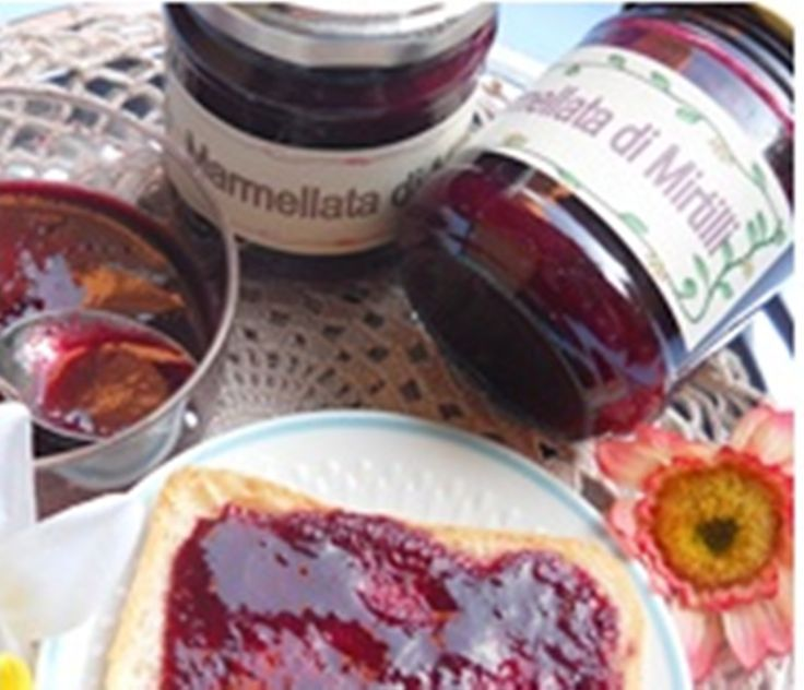 Vitasana? Si, già dalla colazione con la marmellata realizzata con le proprie mani. http://blog.cookaround.com/vincenzina52/marmellata-di-mirtilli/