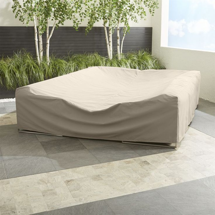 Outdoor Large Sectional Cover - Crate and Barrel