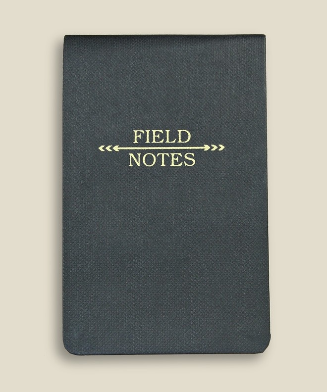 ODDS & ENDS  FIELD NOTES NOTEBOOK