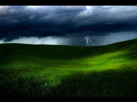 ▶ 1 HOUR of RAIN and THUNDER - Fall Asleep - Relaxing Ambient Audio - YouTube