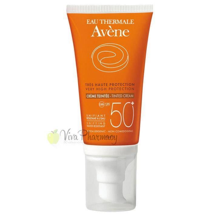 AVENE EMULSION TEINTEE SANS PARFUM SPF50+ 50ml - Vivapharmacy.gr - Online Φαρμακείο - Βρείτε καλλυντικά, βρεφικά προϊόντα, συμπληρώματα διατροφής
