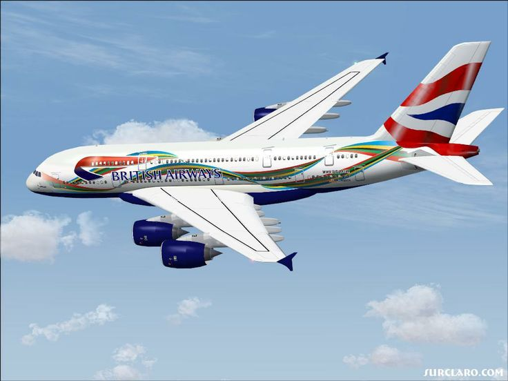 Giant in the sky A380-800 British Airways #british #airlines #a380