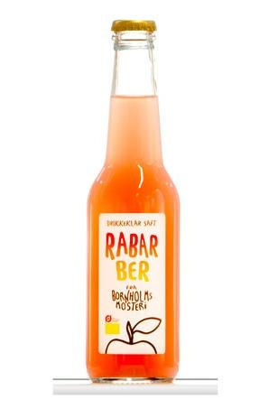 Rhubarb juice from the island of Bornholm (Denmark)--wonder how this tastes?
