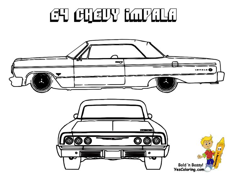 24 best brawny muscle car coloring pages images on
