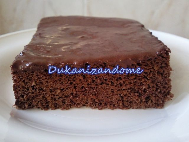 Dukanizandome: TARTA DE CHOCOLATE, microondas