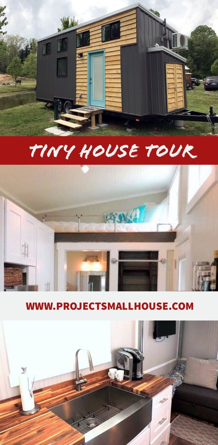 Tiny house tour some could be moved others seemed to be set up as permanent homes