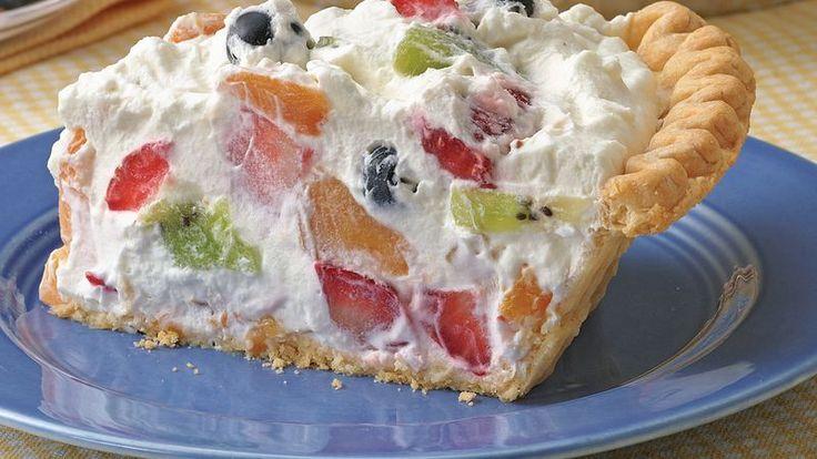 Fruit and Cream Pie – 1K Recipes!