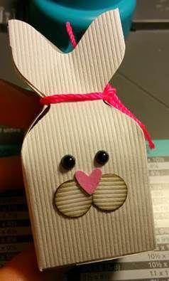 Tutoriel : Boîte lapin avec l'envelop punch board
