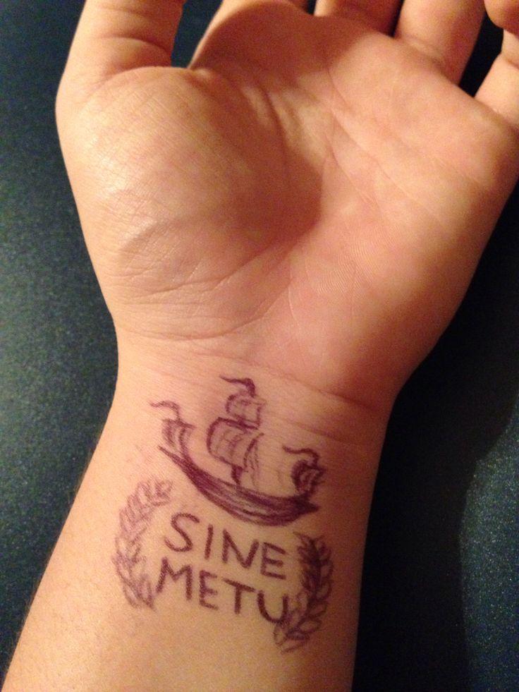 sine metu without fear tattoos