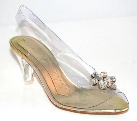 zapatos transparentes magrit