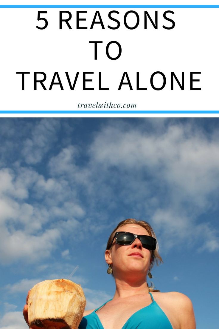 why to travel alone Solo travelling is a nice experience and every one should consider travelling alone at least once in their life, but there are many different ways of travel that offer so much fun and learning travelling with you family/ parents/ siblings, your best friends, your partner, your dog etc travel can reinforce your love and connection with your.