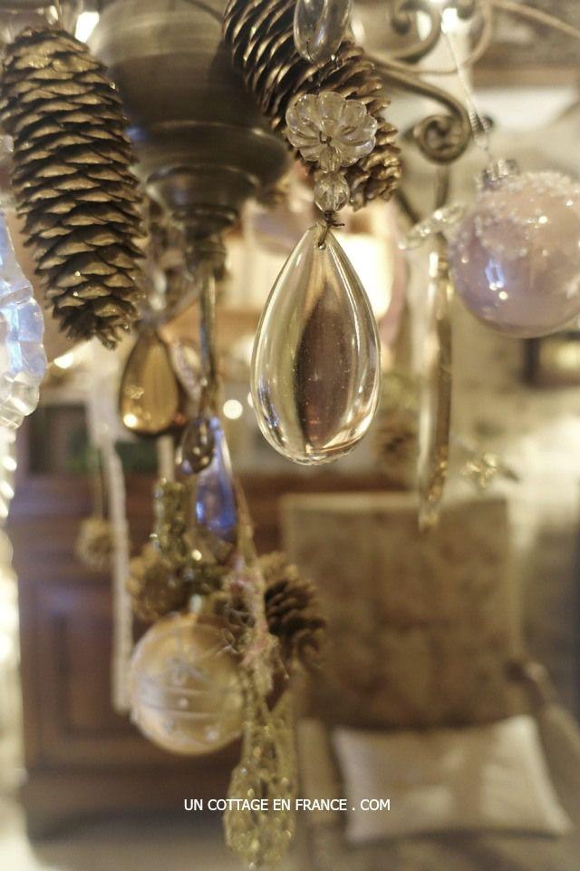 A travers les breloques de Noël - Through the crysal at Christmas