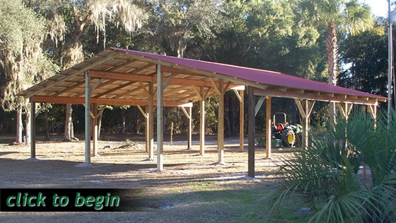 building your own pole barn woodworking projects plans