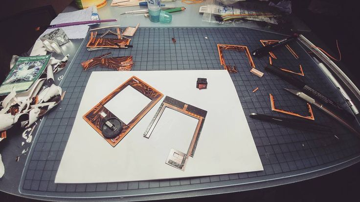 Starting to work on one of my most exciting projects yet!  #yugioh #3d #cards #handmade #craft #papercraft