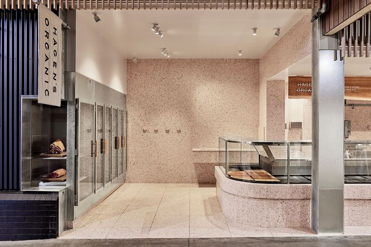 Hagens Organic Butcher - designed by Melbourne-based Projects of Imagination and built by Duo Built. View this interior archive and more here.