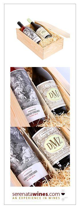 2012 Garden Vineyards Rose + 2012 DMZ Sauvignon Blanc, £36.99, #rose #sauvignonblanc #wine #gifts