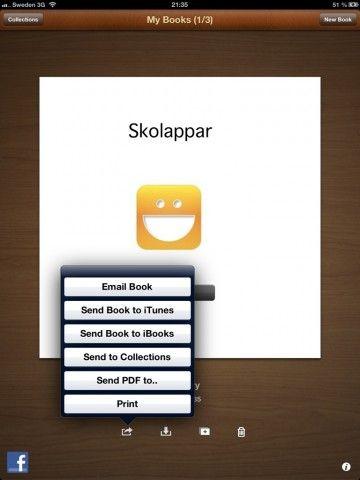 Book Writer: Skapa egna e-böcker.