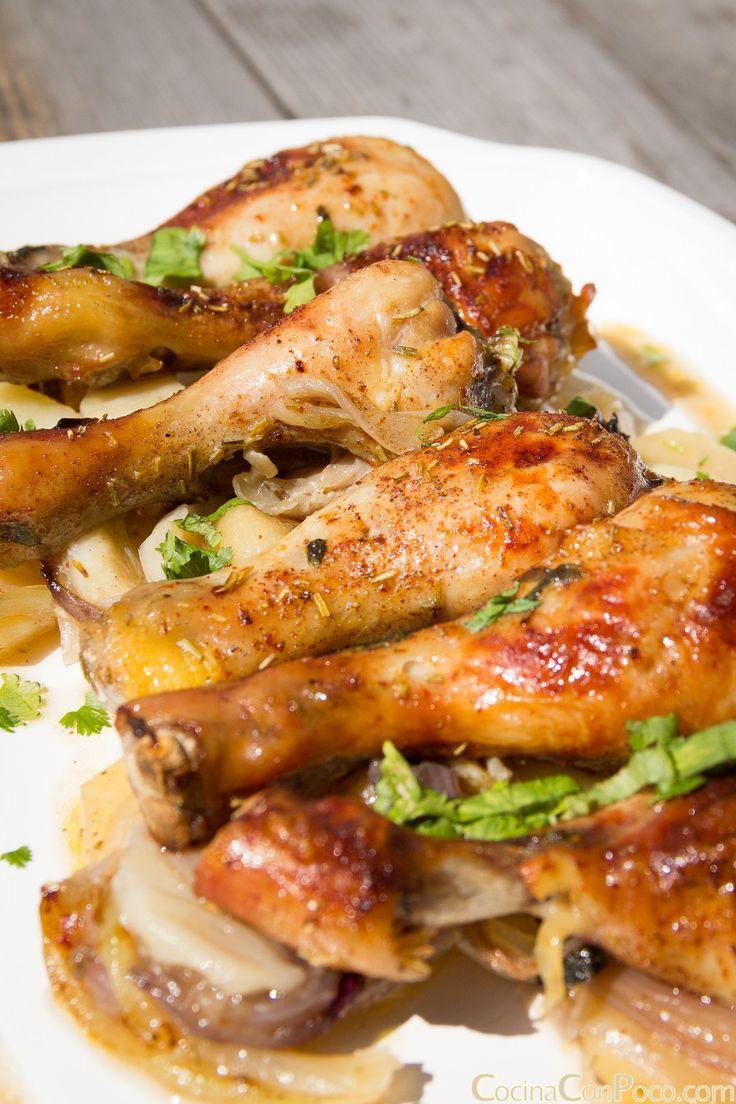 muslitos de pollo al horno