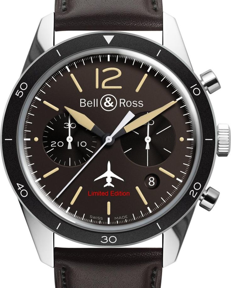 TimeZone : Industry News » INDUSTRY NEWS - Bell & Ross Vintage Sport Heritage International Launch