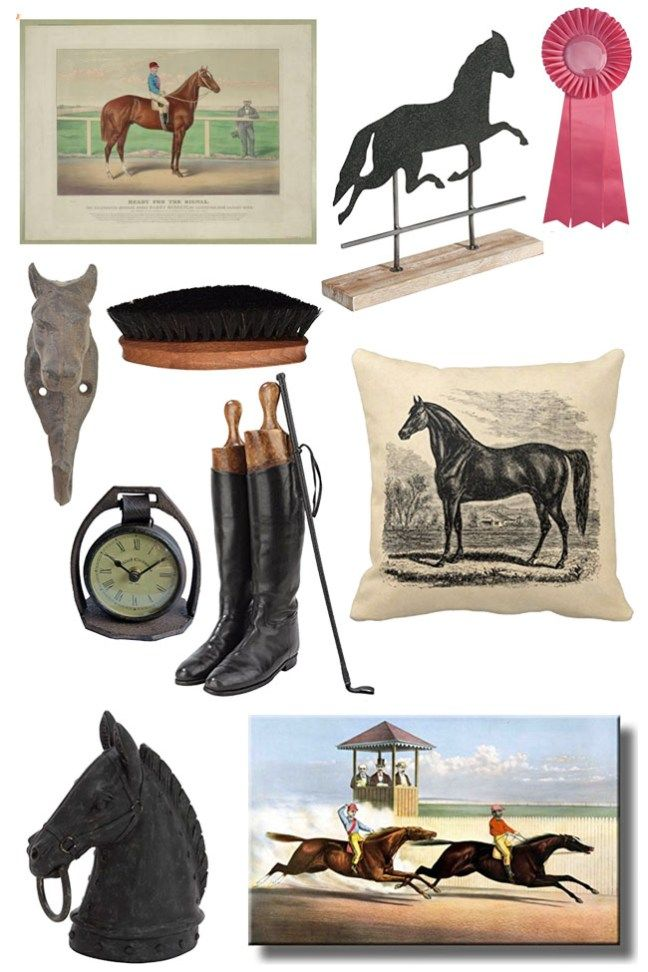 Vintage inspired equestrian home