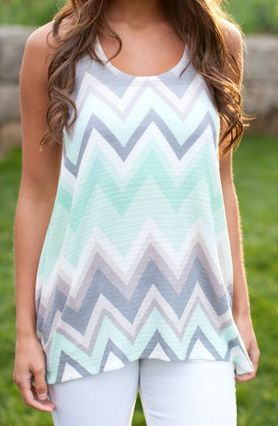 This flowing tank top could be mint to be yours ;) http://www.sparckily.ca/#Valsonlineshop