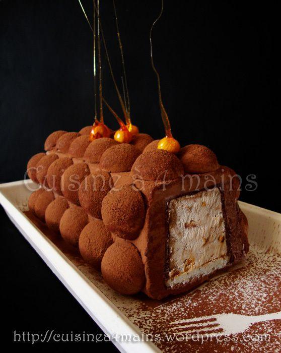 buche-glacee-chocolat-noisettes