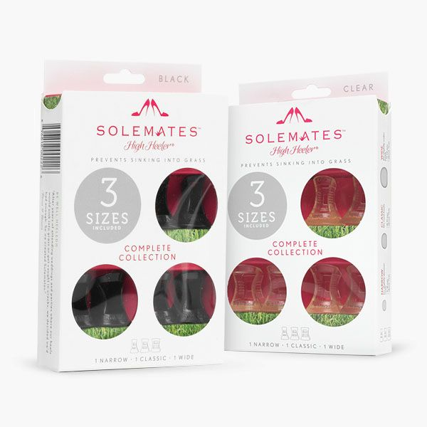 Solemates Assorted Pack   The Solemates™ - High Heel® Protector Cap, Prevents…