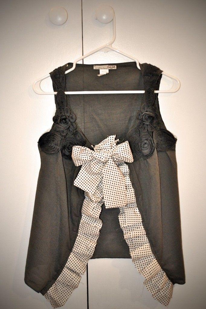 Too small shirt girl long dress
