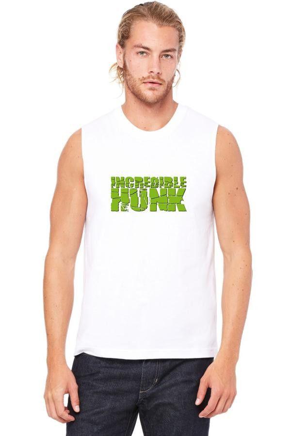 incredible hunk Muscle Tank