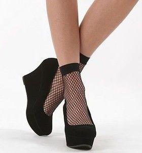 ankle dress socks in demin | Fishnet Ankle Socks POP Socks Trouser Socks 3 8 | eBay