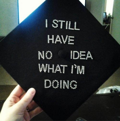 These Funny Graduation Caps Definitely Sum Up What Graduating Feels Like The Weirdest Wackiest And Most Innovative That Absolutely Nailed