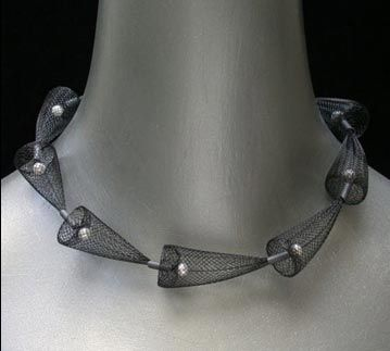 mesh necklaces by Barbara Cohen   Stylehive BM 225214 from bcohendesign.com